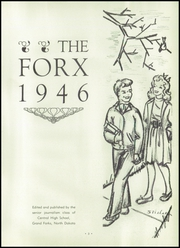 Page 7, 1946 Edition, Central High School - Forx Yearbook (Grand Forks, ND) online yearbook collection