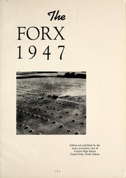 Page 5, 1947 Edition, Central High School - Forx Yearbook (Grand Forks, ND) online yearbook collection