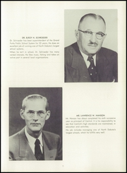 Page 11, 1955 Edition, Central High School - Forx Yearbook (Grand Forks, ND) online yearbook collection