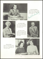 Page 12, 1955 Edition, Central High School - Forx Yearbook (Grand Forks, ND) online yearbook collection