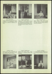 Page 10, 1952 Edition, Williston High School - Coyote Yearbook (Williston, ND) online yearbook collection
