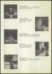 Page 11, 1952 Edition, Williston High School - Coyote Yearbook (Williston, ND) online yearbook collection