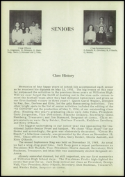 Page 16, 1952 Edition, Williston High School - Coyote Yearbook (Williston, ND) online yearbook collection