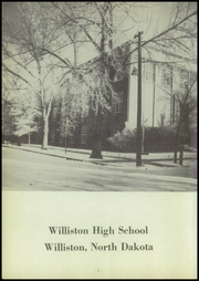 Page 6, 1952 Edition, Williston High School - Coyote Yearbook (Williston, ND) online yearbook collection