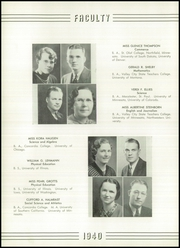 Page 16, 1940 Edition, Valley City High School - Sheyenne Yearbook (Valley City, ND) online yearbook collection