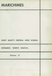 Page 5, 1952 Edition, St Marys Central High School - Marichimes Yearbook (Bismarck, ND) online yearbook collection