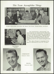 Page 10, 1958 Edition, Carrington High School - Cardinal Yearbook (Carrington, ND) online yearbook collection