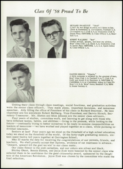 Page 14, 1958 Edition, Carrington High School - Cardinal Yearbook (Carrington, ND) online yearbook collection