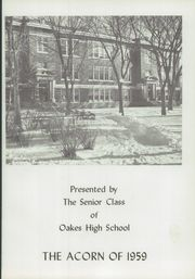 Page 5, 1959 Edition, Oakes High School - Acorn Yearbook (Oakes, ND) online yearbook collection