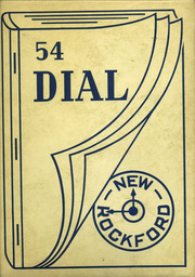 1954 Edition, New Rockford High School - Dial Yearbook (New Rockford, ND)