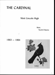 Page 4, 1964 Edition, Mott Lincoln High School - Cardinal Yearbook (Mott, ND) online yearbook collection