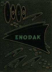 1958 Edition, Enderlin High School - Enodak Yearbook (Enderlin, ND)