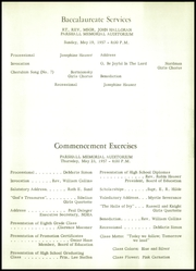 Page 15, 1957 Edition, Parshall High School - Panorama Yearbook (Parshall, ND) online yearbook collection