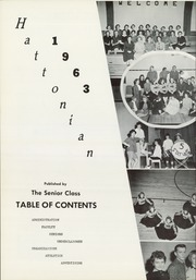 Page 6, 1963 Edition, Hatton High School - Hattonian Yearbook (Hatton, ND) online yearbook collection