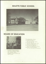 Page 5, 1959 Edition, Rolette High School - Comet Yearbook (Rolette, ND) online yearbook collection