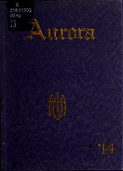 Page 1, 1914 Edition, Olivet Nazarene University - Aurora Yearbook (Bourbonnais, IL) online yearbook collection