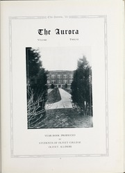 Page 7, 1925 Edition, Olivet Nazarene University - Aurora Yearbook (Bourbonnais, IL) online yearbook collection