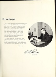 Page 13, 1939 Edition, Olivet Nazarene University - Aurora Yearbook (Bourbonnais, IL) online yearbook collection