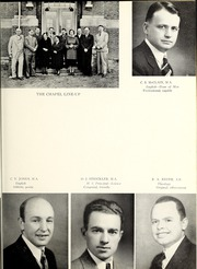 Page 15, 1939 Edition, Olivet Nazarene University - Aurora Yearbook (Bourbonnais, IL) online yearbook collection