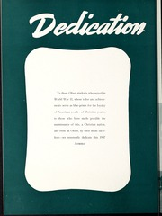 Page 10, 1947 Edition, Olivet Nazarene University - Aurora Yearbook (Bourbonnais, IL) online yearbook collection