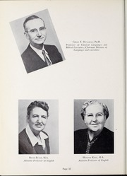 Page 36, 1952 Edition, Olivet Nazarene University - Aurora Yearbook (Bourbonnais, IL) online yearbook collection