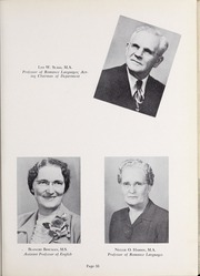 Page 37, 1952 Edition, Olivet Nazarene University - Aurora Yearbook (Bourbonnais, IL) online yearbook collection