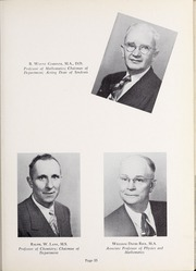 Page 39, 1952 Edition, Olivet Nazarene University - Aurora Yearbook (Bourbonnais, IL) online yearbook collection