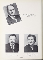 Page 40, 1952 Edition, Olivet Nazarene University - Aurora Yearbook (Bourbonnais, IL) online yearbook collection