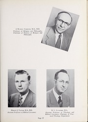 Page 41, 1952 Edition, Olivet Nazarene University - Aurora Yearbook (Bourbonnais, IL) online yearbook collection