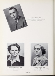 Page 44, 1952 Edition, Olivet Nazarene University - Aurora Yearbook (Bourbonnais, IL) online yearbook collection