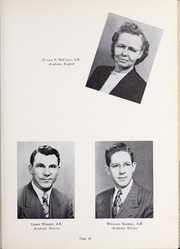 Page 45, 1952 Edition, Olivet Nazarene University - Aurora Yearbook (Bourbonnais, IL) online yearbook collection