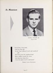 Page 51, 1952 Edition, Olivet Nazarene University - Aurora Yearbook (Bourbonnais, IL) online yearbook collection