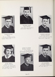 Page 56, 1952 Edition, Olivet Nazarene University - Aurora Yearbook (Bourbonnais, IL) online yearbook collection