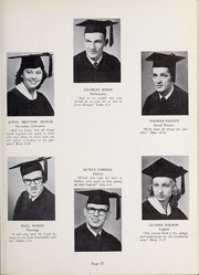 Page 61, 1952 Edition, Olivet Nazarene University - Aurora Yearbook (Bourbonnais, IL) online yearbook collection
