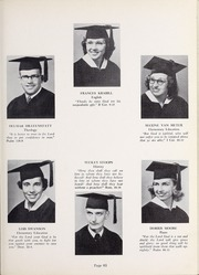 Page 67, 1952 Edition, Olivet Nazarene University - Aurora Yearbook (Bourbonnais, IL) online yearbook collection