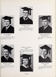 Page 69, 1952 Edition, Olivet Nazarene University - Aurora Yearbook (Bourbonnais, IL) online yearbook collection