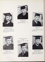 Page 70, 1952 Edition, Olivet Nazarene University - Aurora Yearbook (Bourbonnais, IL) online yearbook collection
