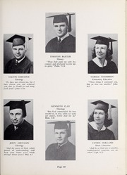 Page 71, 1952 Edition, Olivet Nazarene University - Aurora Yearbook (Bourbonnais, IL) online yearbook collection