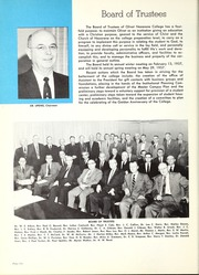 Page 10, 1957 Edition, Olivet Nazarene University - Aurora Yearbook (Bourbonnais, IL) online yearbook collection