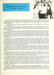 Page 11, 1957 Edition, Olivet Nazarene University - Aurora Yearbook (Bourbonnais, IL) online yearbook collection