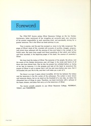 Page 12, 1957 Edition, Olivet Nazarene University - Aurora Yearbook (Bourbonnais, IL) online yearbook collection