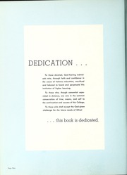 Page 6, 1957 Edition, Olivet Nazarene University - Aurora Yearbook (Bourbonnais, IL) online yearbook collection