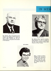 Page 8, 1957 Edition, Olivet Nazarene University - Aurora Yearbook (Bourbonnais, IL) online yearbook collection
