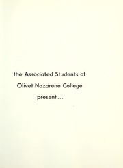 Page 5, 1965 Edition, Olivet Nazarene University - Aurora Yearbook (Bourbonnais, IL) online yearbook collection