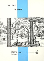 Page 6, 1965 Edition, Olivet Nazarene University - Aurora Yearbook (Bourbonnais, IL) online yearbook collection