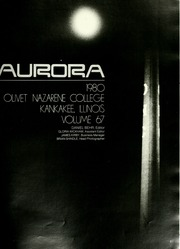 Page 5, 1980 Edition, Olivet Nazarene University - Aurora Yearbook (Bourbonnais, IL) online yearbook collection