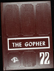 1972 Edition, Grenora High School - Gopher Yearbook (Grenora, ND)
