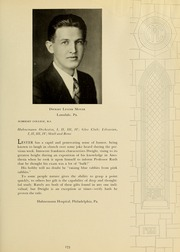 Page 177, 1933 Edition, Drexel University College of Medicine - Hahnemann Medic Yearbook (Philadelphia, PA) online yearbook collection