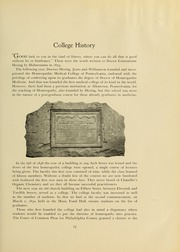Page 21, 1933 Edition, Drexel University College of Medicine - Hahnemann Medic Yearbook (Philadelphia, PA) online yearbook collection