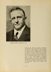 Page 14, 1934 Edition, Drexel University College of Medicine - Hahnemann Medic Yearbook (Philadelphia, PA) online yearbook collection